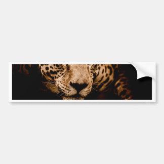 Autocollant De Voiture yeux de égrappage de l'eau de jaguar