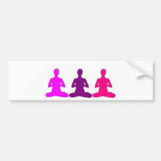 Autocollant De Voiture Yoga