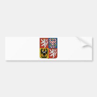 Autocollant De Voiture Znak České de Státní d'emblème de République