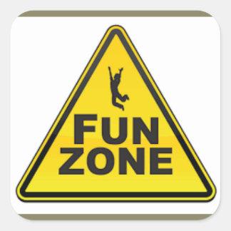 Autocollant de zone d'amusement