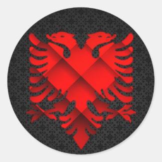 Autocollant d'Eagle d'Albanais