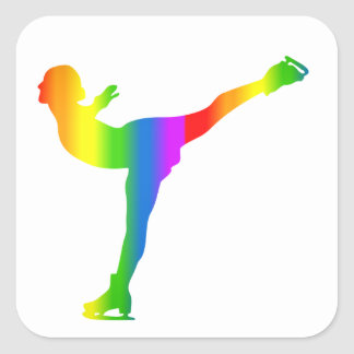 Autocollant d'Eiskunstlauf Regenbogen de Bunter
