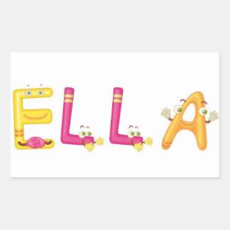 Autocollant d'Ella