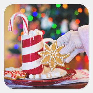 Autocollant des festins de Père Noël