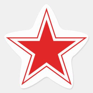 Autocollant d'étoile
