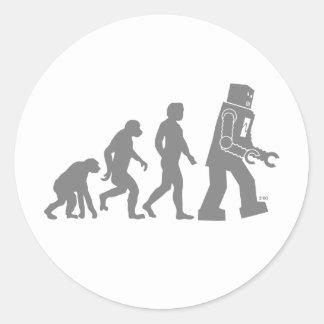 Autocollant d'évolution de robot