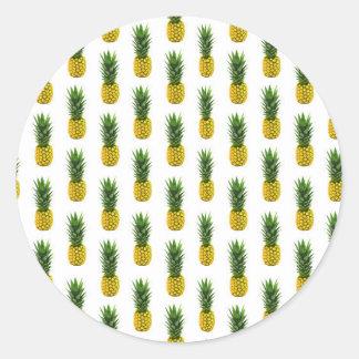 Autocollant d'impression d'ananas