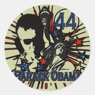 Autocollant d'Obama -