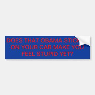 Autocollant d'Obama Autocollant De Voiture
