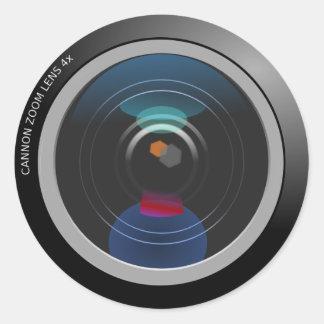 Autocollant d'objectif de caméra