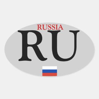 Autocollant d'ovale de Russia*
