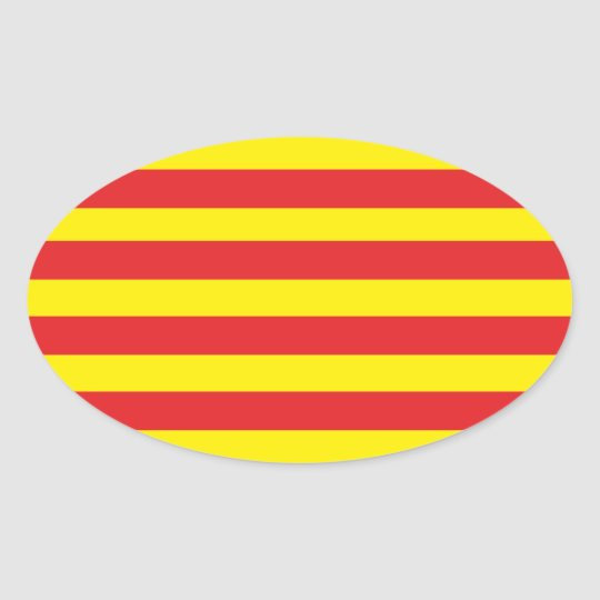 "Autocollant Drapeau Catalan ""Serenya"""