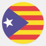 Autocollant Drapeau de l'Indépendance Catalane