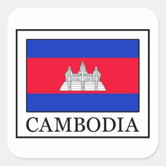 Autocollant du Cambodge