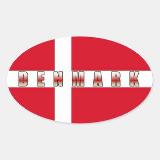 Autocollant du Danemark