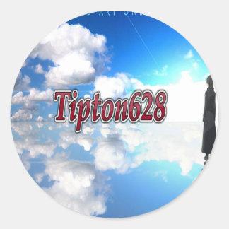 Autocollant du logo Tipton628