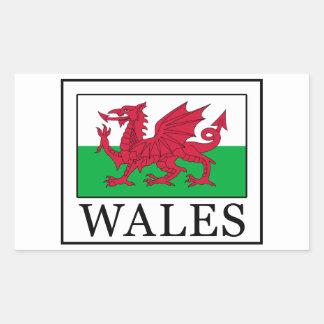 Autocollant du Pays de Galles