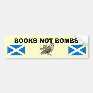 Autocollant écossais de hibou de l'indépendance de