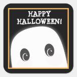 Autocollant éffrayant personnalisable de Halloween