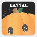 Autocollant éffrayant personnalisé de Halloween de