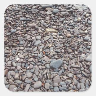 Autocollant en pierre de rivage