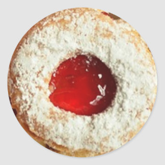 Autocollant en poudre de biscuit de gelée de sucre