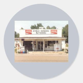 Autocollant - épicerie générale d'Atoka d'Andy