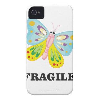 autocollant fragile coque iPhone 4