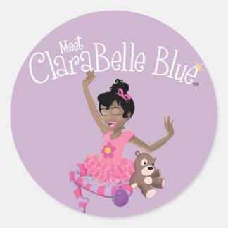 Autocollant heureux de ClaraBelle