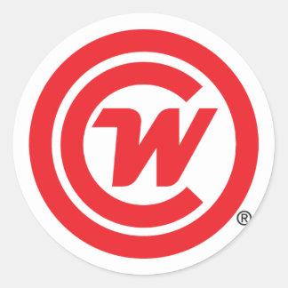 Autocollant - icône de logo de CLUBWAKA