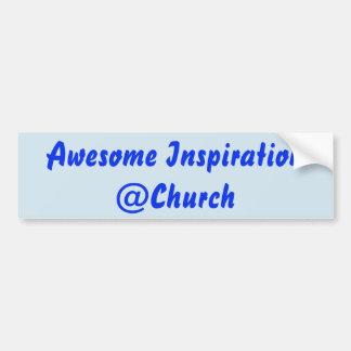 Autocollant impressionnant de @Church