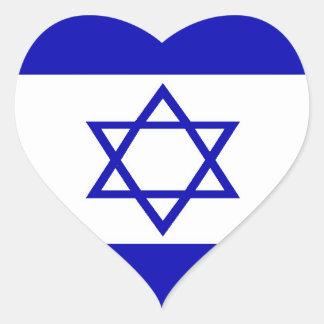 Autocollant israélien de drapeau