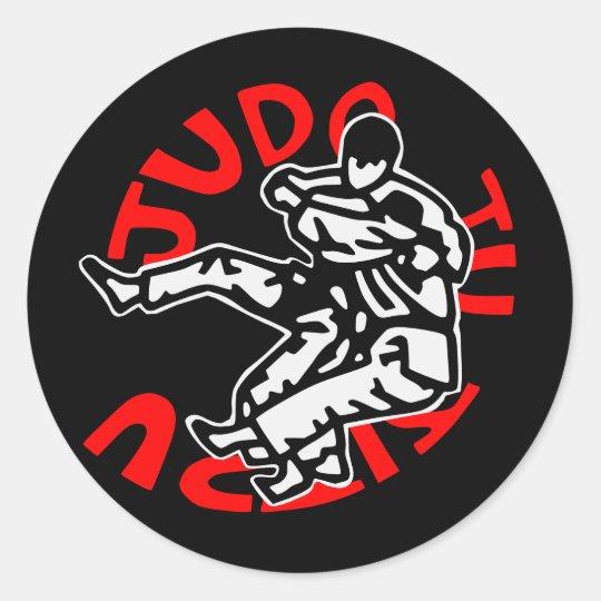 autocollant judo ji jitsu
