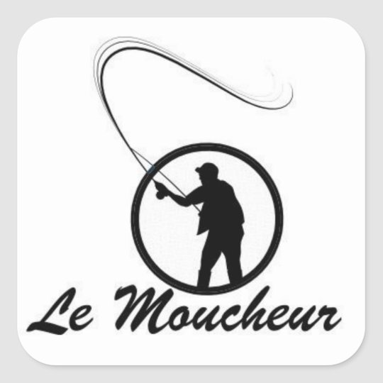 """Autocollant """"Le Moucheur"""""""
