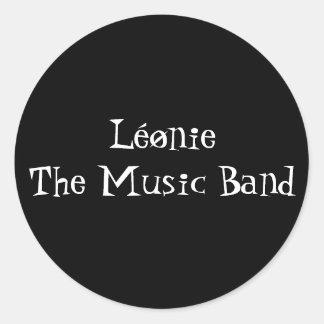 autocollant Léønie the music band