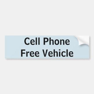 Autocollant libre de véhicule de téléphone