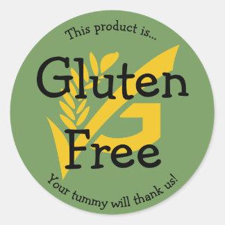 Autocollant libre d'étiquette de nourriture de