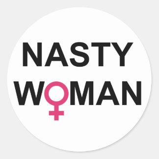 Autocollant méchant de femme de Hillary 2016