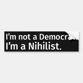 Autocollant nihiliste