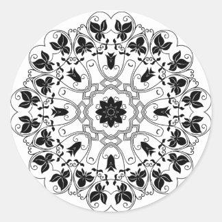 motif de mandala autocollants stickers motif de mandala. Black Bedroom Furniture Sets. Home Design Ideas