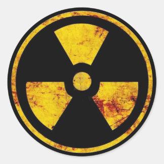 Autocollant nucléaire sale de panneau