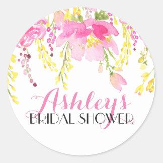 Autocollant nuptiale de douche de fleur