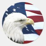 Autocollant patriotique
