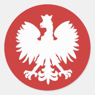 Autocollant polonais d'Eagle