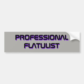 AUTOCOLLANT PROFESSIONNEL DE FLATULIST