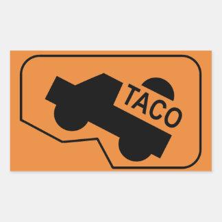 autocollant secret de symbole de Tacoma