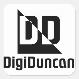 Autocollant simple de logo de DigiDuncan