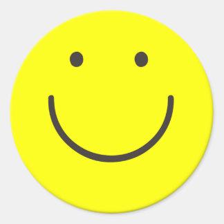 Autocollant souriant de base