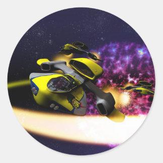 Autocollant stellaire de dérive