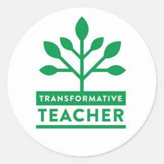 Autocollant transformatif de professeur